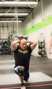 Bill Miller inside CrossFit Northern Exposure gym in Anchorage, Alaska